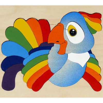 Мозаика Попугай 29 деталей