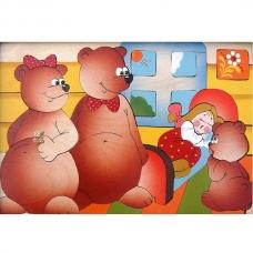 Мозаика Маша и три медведя 40 деталей
