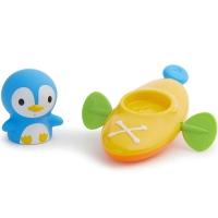 Игрушка для ванной Пингвин пловец в лодке