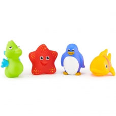 Игрушки для ванной Морские животные 4 шт