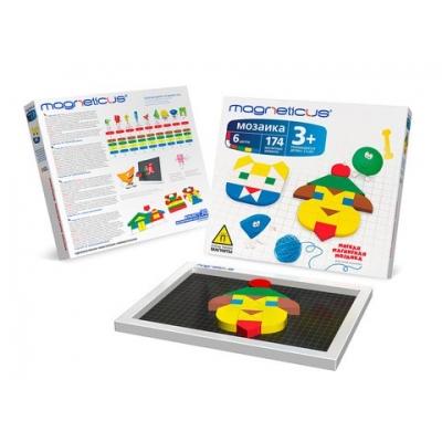 Мозаика 3+, 174 элемента / 6 цветов / 30 этюдов