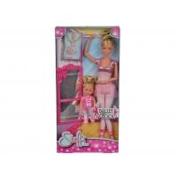"""Кукла Штеффи и кукла Еви, набор """"Школа балета"""""""