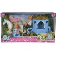Кукла Еви и Тимми в карете
