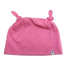 Шапочка Узелок розовая