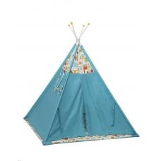 Палатка-вигвам детская Polini Жираф, голубой