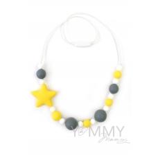 Слингобусы со звездой в серо-желтой гамме