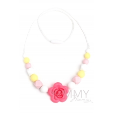 Слингобусы с цветком в розово-желто-белой гамме