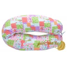 Наволочка на универсальную подушку в форме бумеранга, игрушки