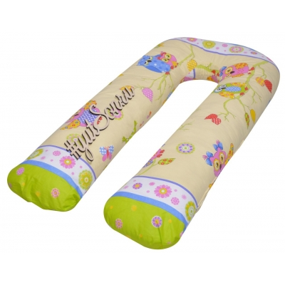 Наволочка на подушку для беременных, Совы