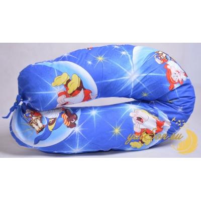 Наволочка на подушку стандарт для беременных, гномики