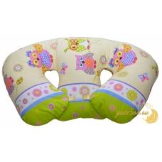 Большая подушка для кормления двойни, Совята