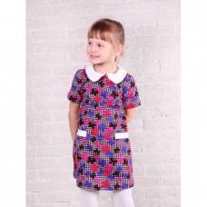 Платье для девочки интерлок