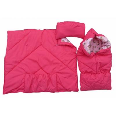 """Конверт """"Конверт-одеяло"""" ярко-розовый (демисезонный)"""