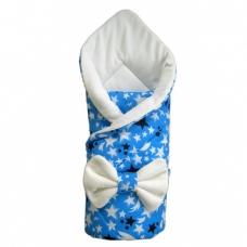 """Конверт-одеяло """"Звезда"""" с бантом на резинке"""