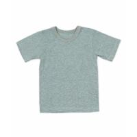 футболка однотонная цветная изумруд/меланж