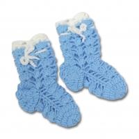 Носки вязаные для мальчика