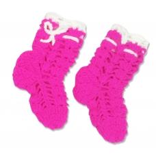 Носки вязаные для девочки