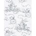 Колготки для девочек 40 den печатный рисунок