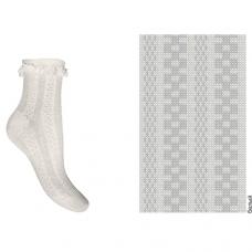 Носки с кружевом