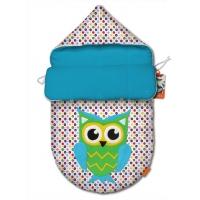"""Конверт для новорожденного original """"Owl green"""""""