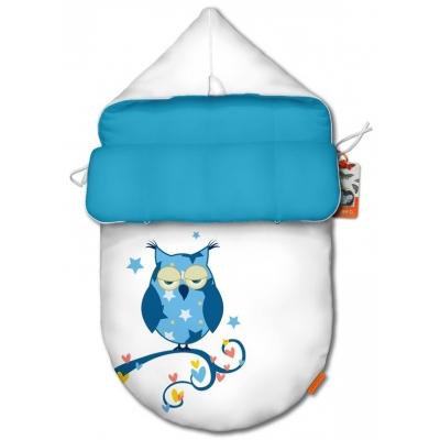 """Конверт для новорожденного original """"Owl blue"""""""