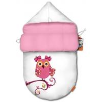 """Конверт для новорожденного original """"Owl pink"""""""