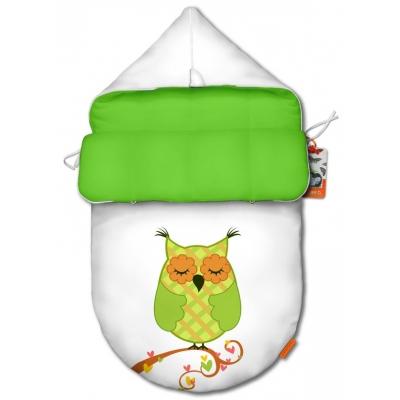 "Конверт для младенца original ""Owl green"""