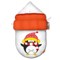 """Конверт для новорожденного original """"Penguin red"""""""