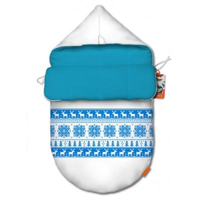 """Конверт для новорожденного original """"Winter blue"""""""