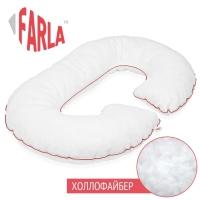 Подушка для беременных с холлофайбером рогалик