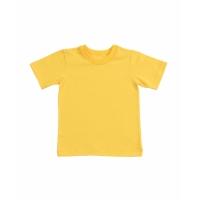 Детская футболка желтая