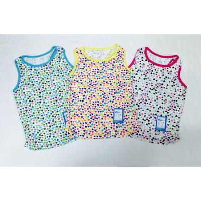 Майки для девочек цветные