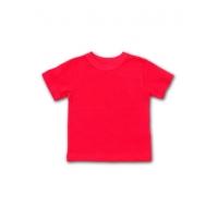 Детская футболка красная