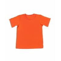 Детская футболка оранжевая