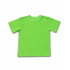 Детская футболка зеленая