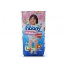 MOONYMAN трусики для девочек L (9-14 кг.), 44 шт.