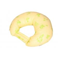 """Подушка для кормления """"Веточки на желтом"""""""