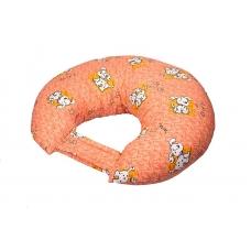 """Подушка для кормления """"Долматинцы на оранжевом"""""""