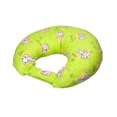 """Подушка для кормления """"Зеленые долматинцы"""""""