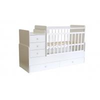Кроватка детская Фея 1100 белый