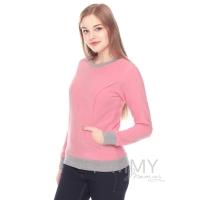 Джемпер флисовый розовый