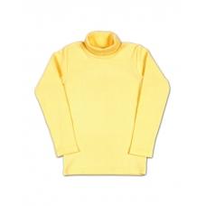 Бадлон однотонный желтый