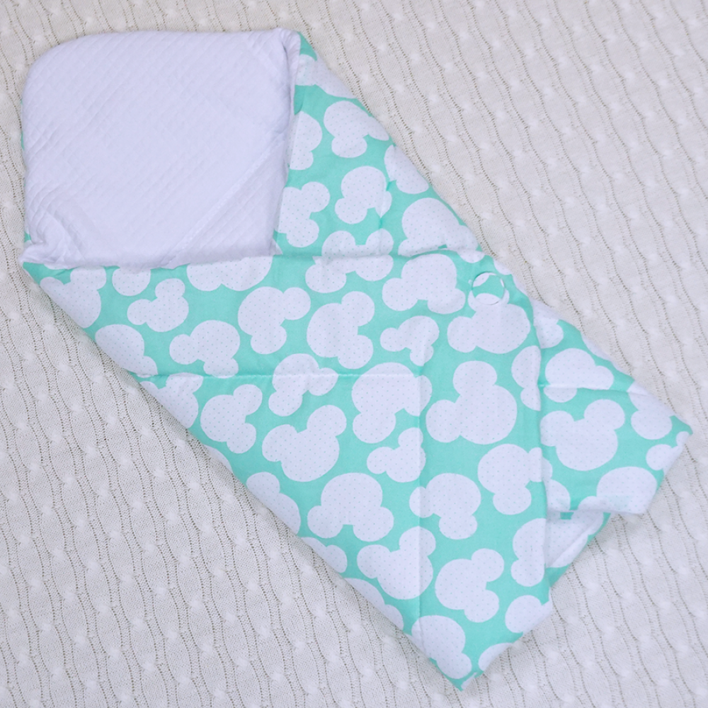 Одеяло новорожденной своими руками 289